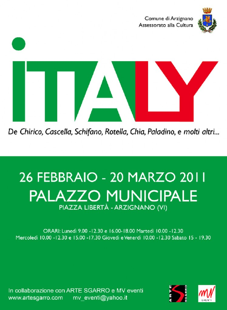 ITALY - Arzignano, dal 26 Febbraio al 20 Marzo 2011