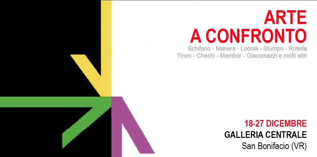 """invito - """"Arte a confronto"""" - San Bonifacio (VR)"""
